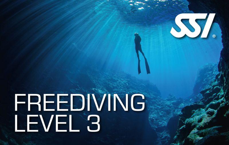 SSI Freediving Level 3