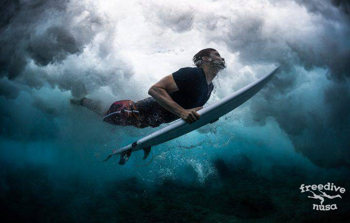 Breath-hold tips for surfers