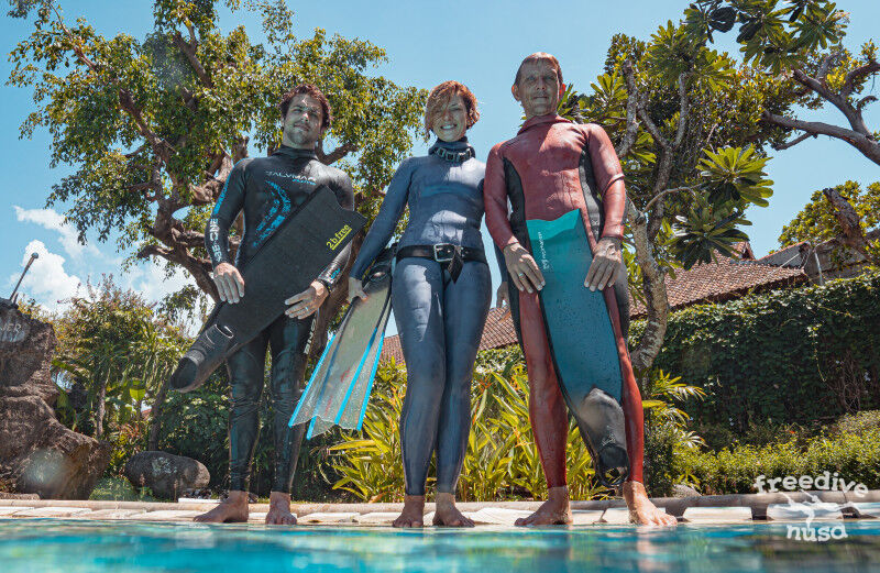 Freedive Nusa Team